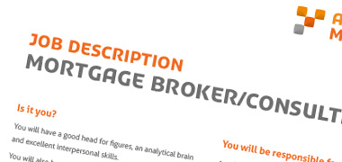 Job Description Template - Mortgage Broker/Consultant